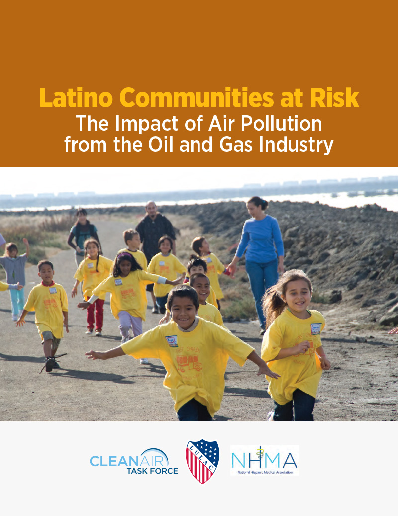Latino Communities at Risk Cover