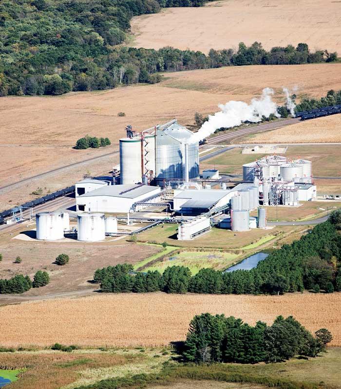 Biofuels plant