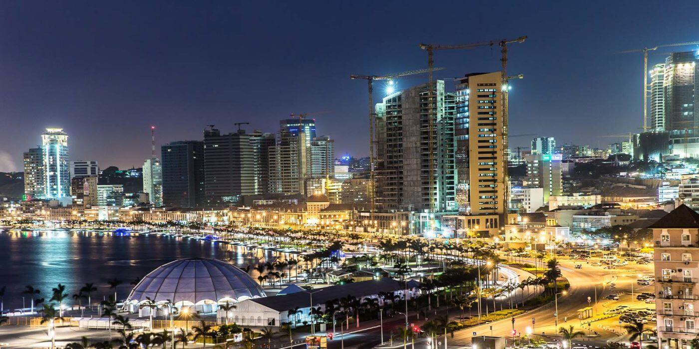 Luanda, Angola city skyline